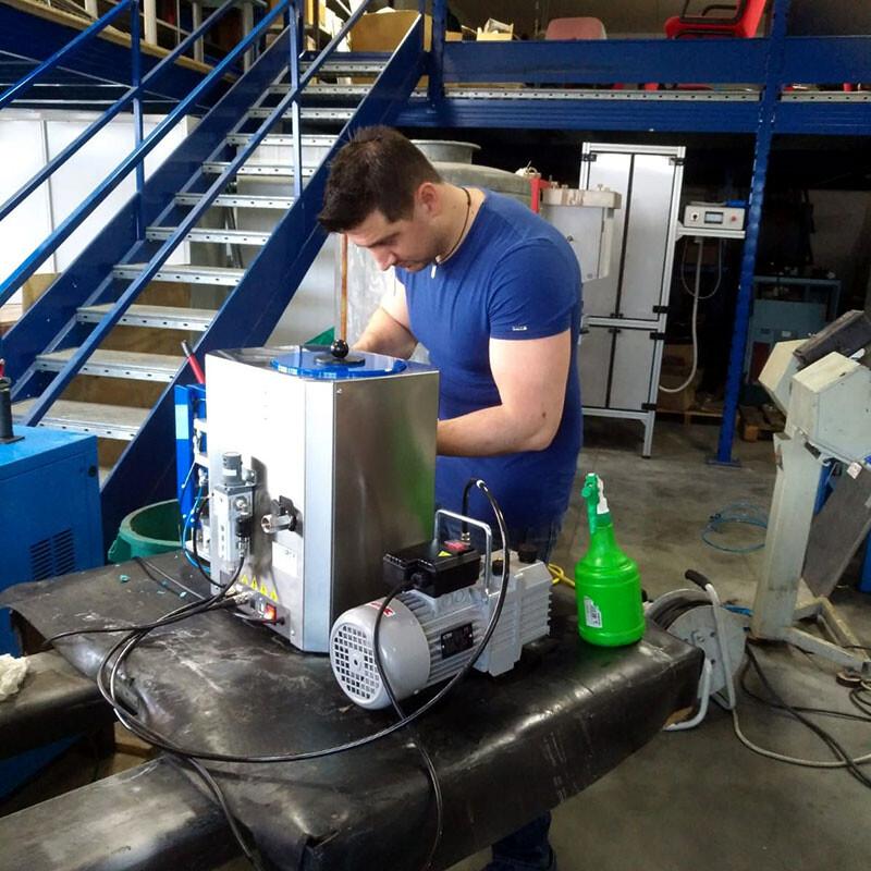 Assistenza tecnica macchinari per oreficeria