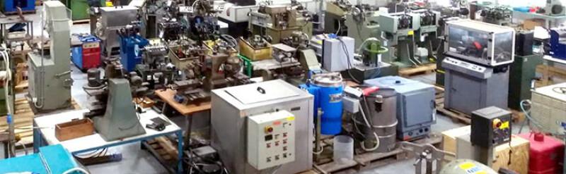 Riparazione macchinari per oreficeria